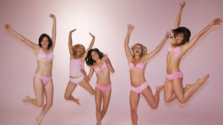 Mixed messages ... Unilever's brand Dove promotes a 'love your body' message that it has been pushing in schools.