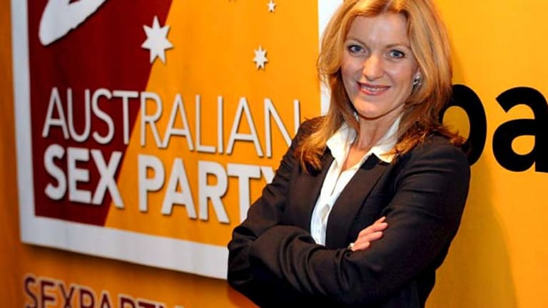 Fiona Patten, convenor of the Australian Sex Party and candidate for state seat of Melbourne.