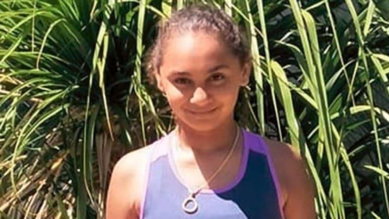 11-year-old Denishar Woods.