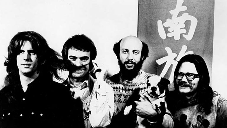 Trailblazers … Bergman (third from left) and his Firesign cohorts.