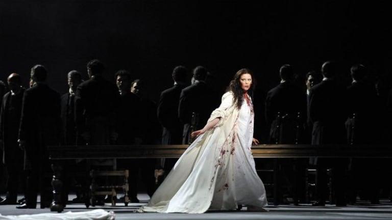 Jessica Pratt in <i>Lucia di Lammermoor</i> at Teatro La Fenice in Venice.