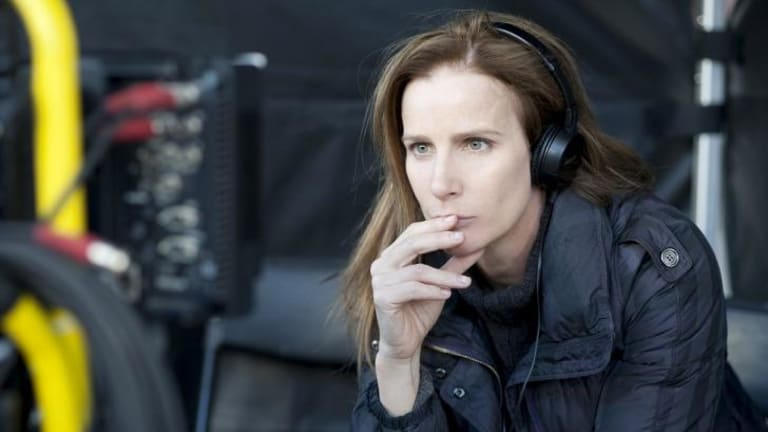 Decisive: Rachel Griffiths directs three episodes in season two of <i>Nowhere Boys</i>.