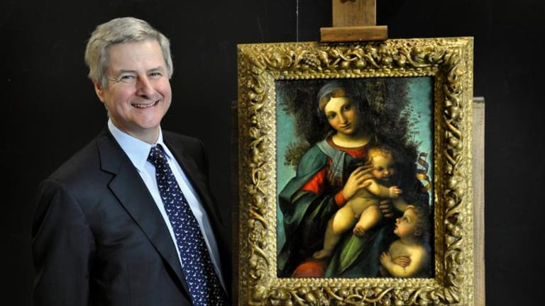 Businessman and National Gallery of Victoria trustee Andrew Sisson put up $5.2million for the Correggio painting on the day the sale of his company came through.