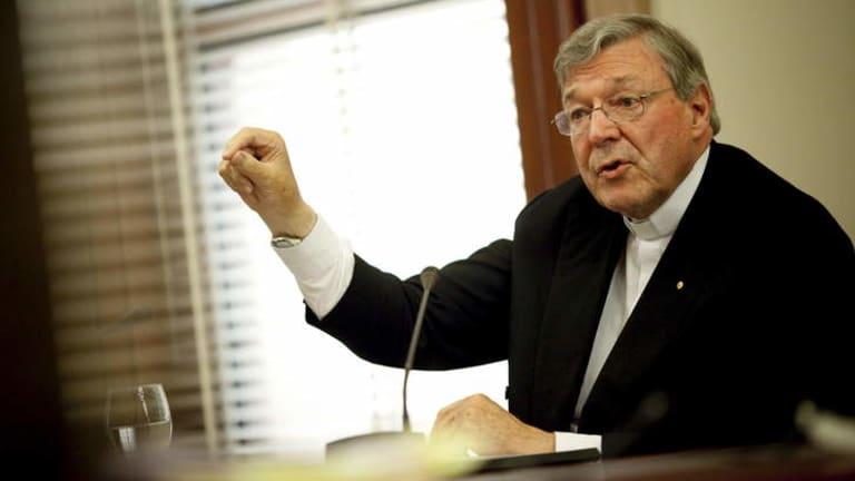 Cardinal George Pell: Facing a detailed cross-examination.