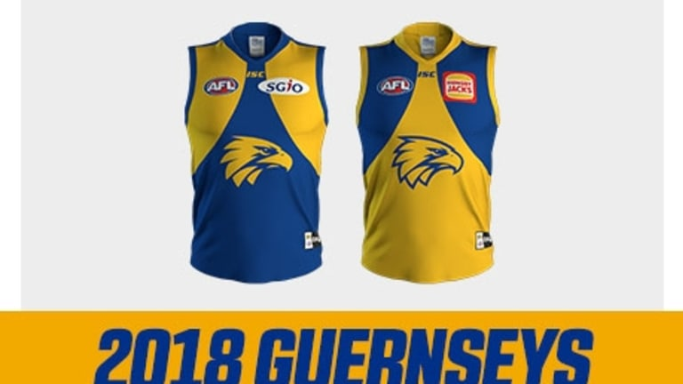 The Eagles' 2018 playing kit.