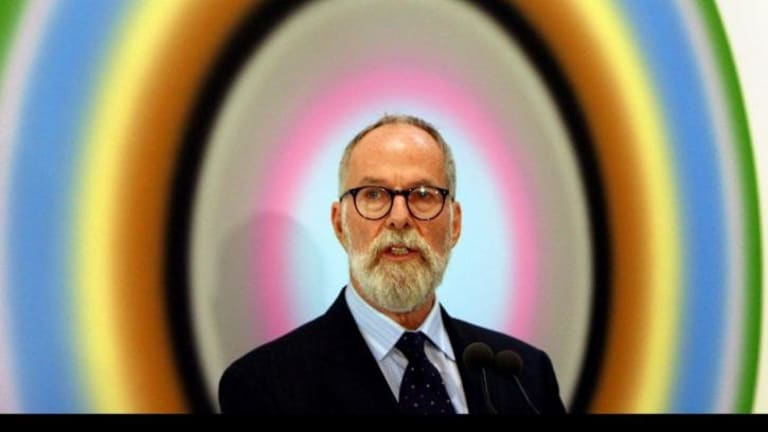 John Kaldor gave more than 200 artworks to the Art Gallery of NSW in 2008.