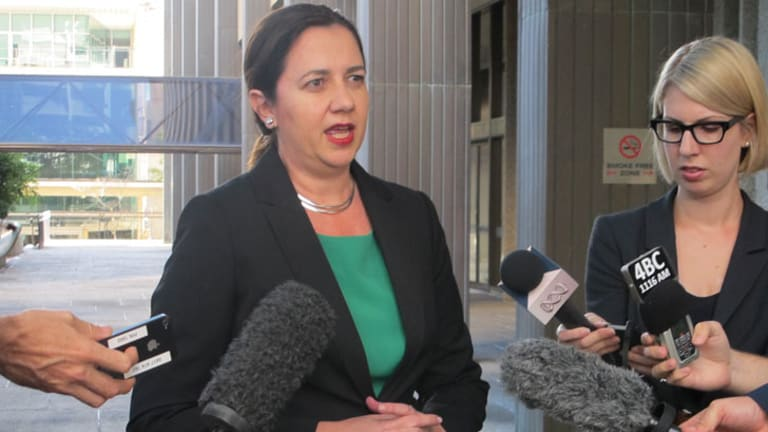 Opposition Leader Annastacia Palaszczuk said there must be fresh cause for Mr Driscoll's suspension that Mr Newman was not sharing.