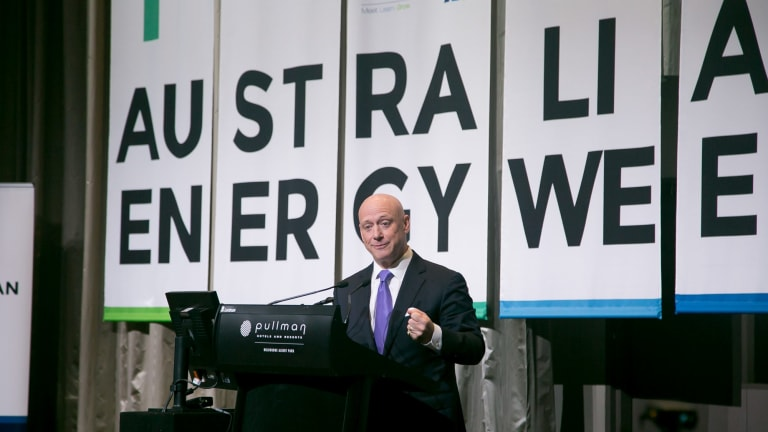 """AGL chief Andy Vesey: """"The industry is not going to invest in things that don't make sense."""""""