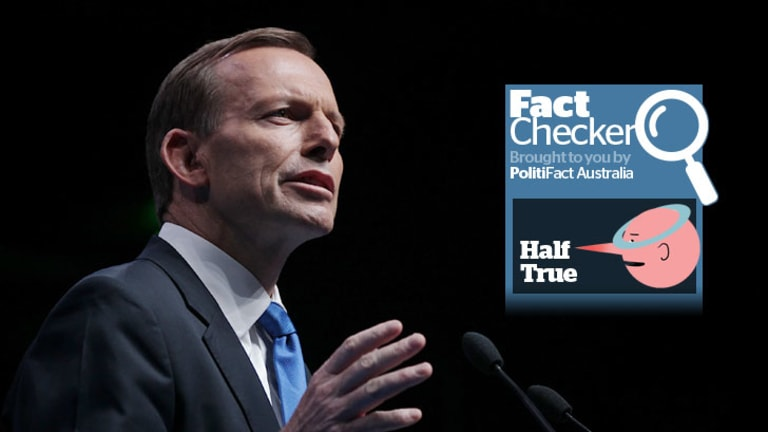 Tony Abbott claims he has spent a week a year in remote indigenous communities.