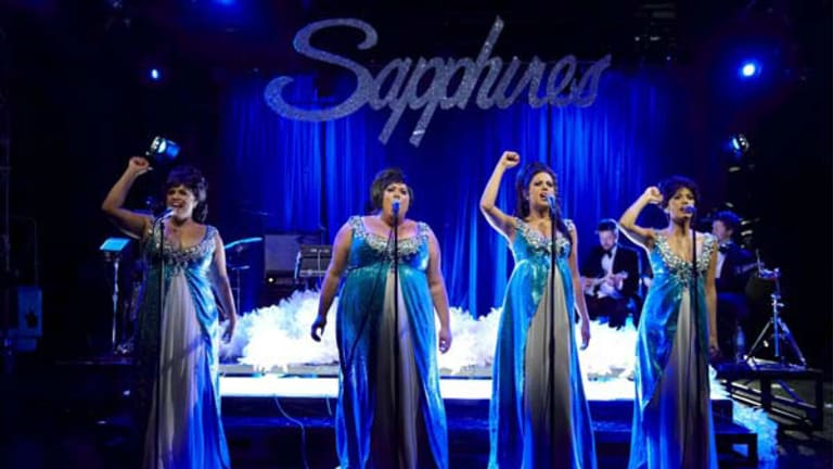 London trip ... The Sapphires , about Aboriginal sisters performing Motown songs, will be heading to Britain next year.