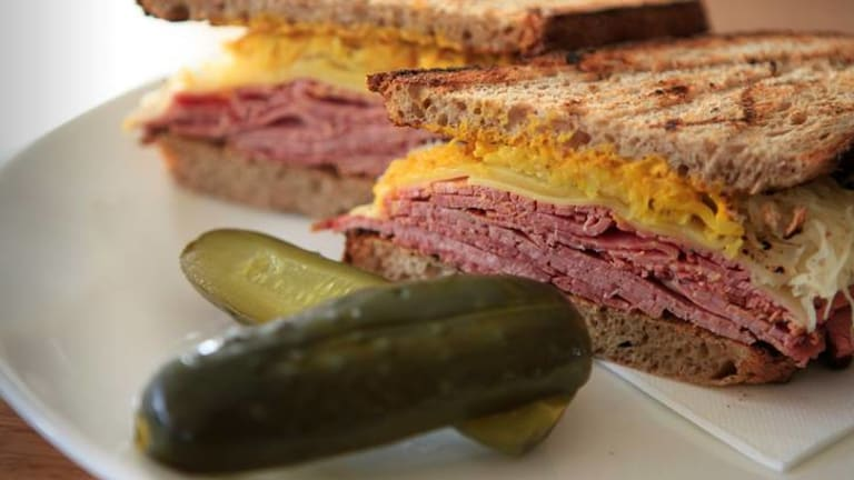 The Reuben takes on an authentic American flavour at the Gramercy.