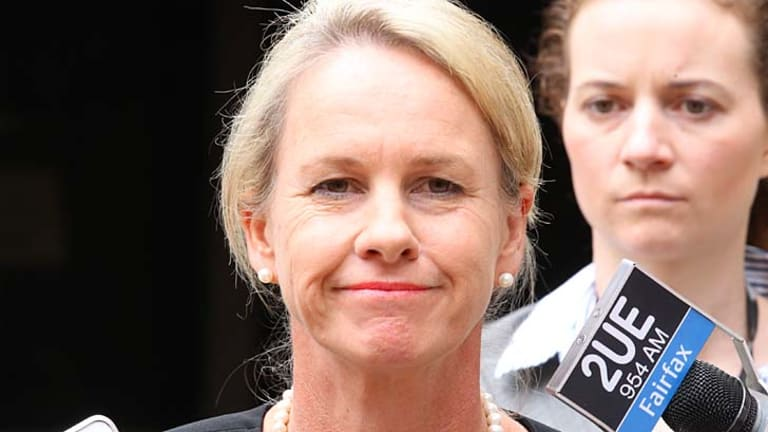 Questions: Assistant Health Minister Fiona Nash on Friday.