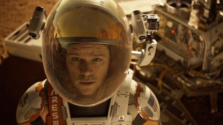 Matt Damon in <i>The Martin.</i>