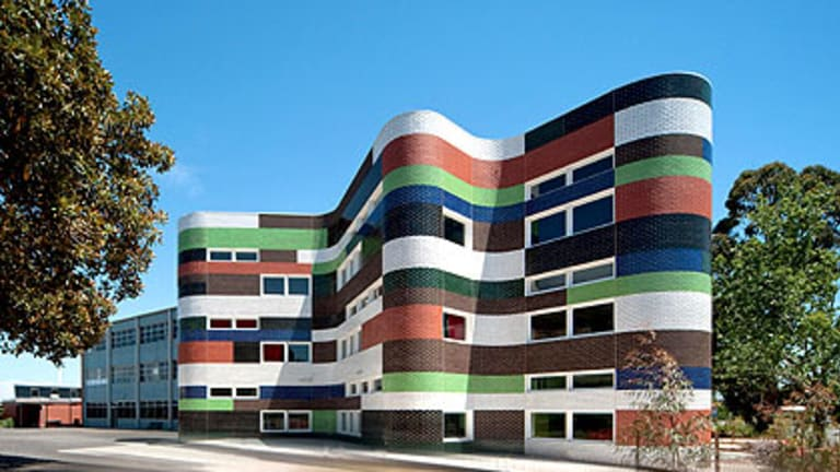 The brief for Fitzroy High School's new building called for ''a bit of zing''.
