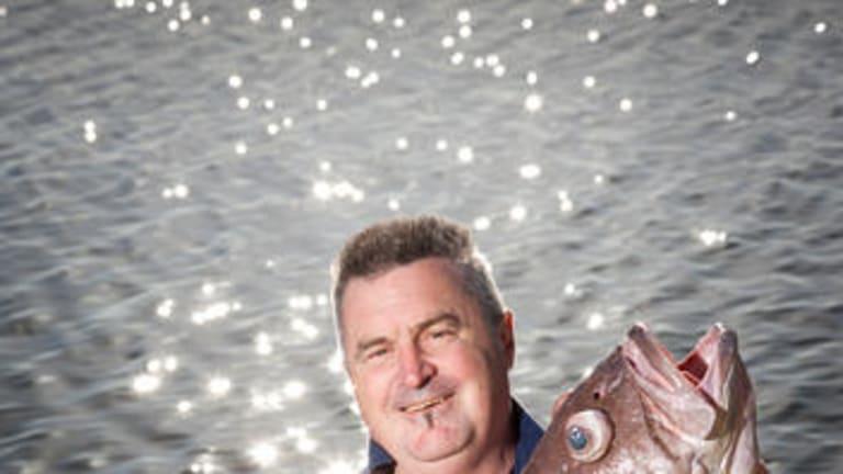 Mark Eather with a bar cod.