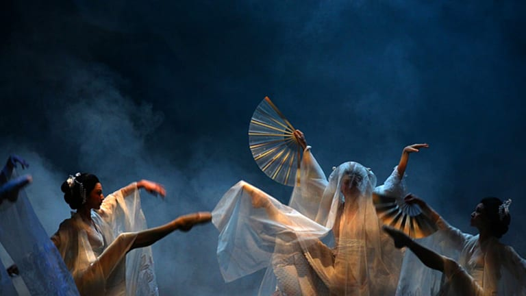 Theatrical magic ... the Australian Ballet combines dancing, acting, music and design at their highest levels in a popular story of cultural contrast.