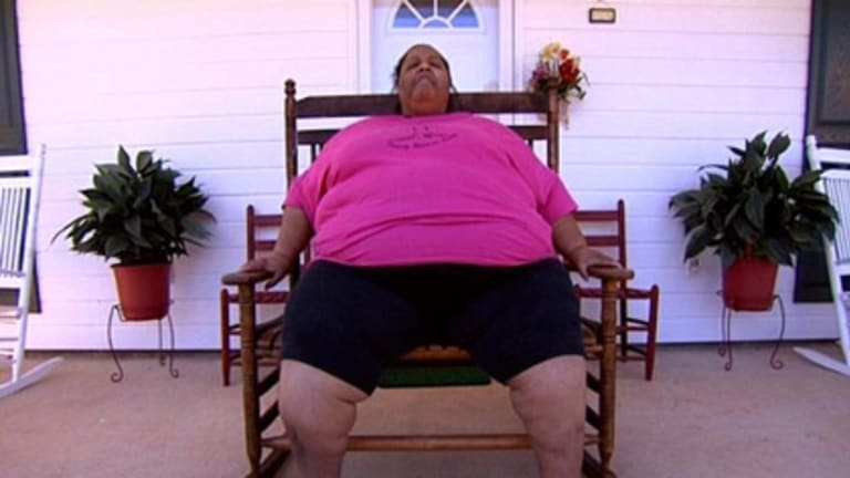 A scene from Fat and Fatter: USA.