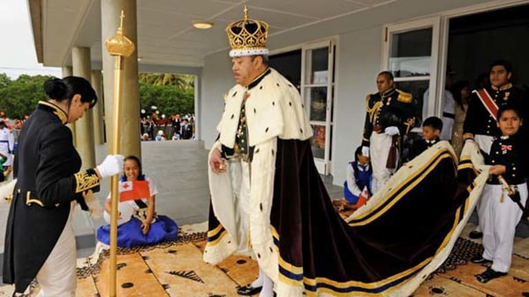 """King George Tupou V ... polling day was Tonga's """"greatest day""""."""