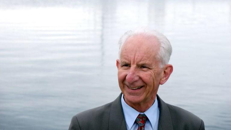 Saw people in policy problems: Brian Harradine, Tasmania's warrior senator.