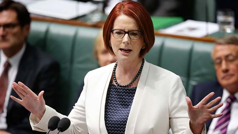 No prime minister for decades has headed into an election as unpopular as Julia Gillard is now.