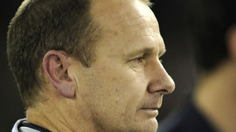 Ken Hinkley is the favourite for the Geelong coaching job.