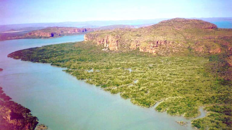 The forests and rocky crags of the Kimberley's Mitchell Plateau