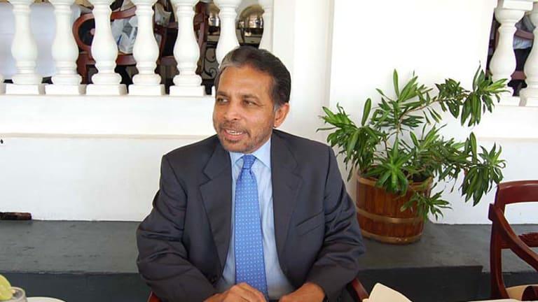 Sri Lankan ambassador and Australian citizen Palitha Kohona.