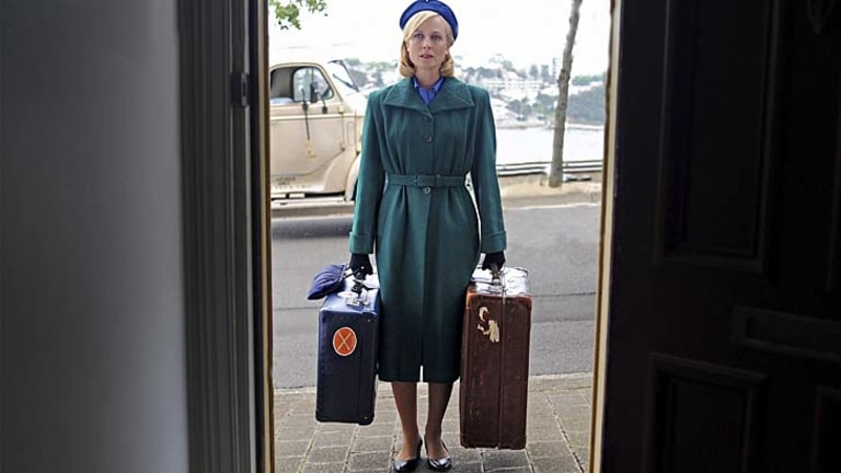Finding her place: Marta Dusseldorp as Sarah Adams in <em>A Place to Call Home</em>.