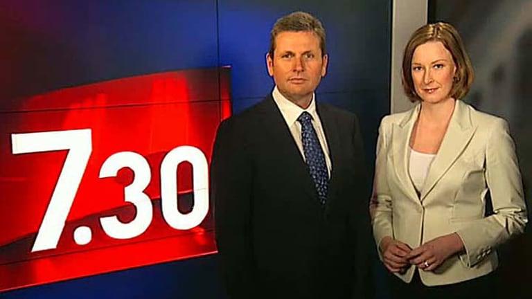 Binary operation ... 7.30 presenters Chris Uhlmann and Leigh Sales.