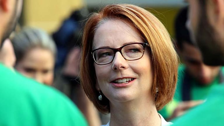 Losing game: Julia Gillard.
