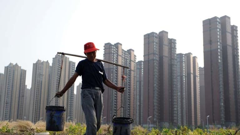 Winners and losers ... China's relentless development is destroying the livelihoods of millions of farmers.
