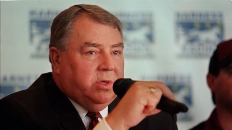 Former Essendon boss Graeme McMahon.