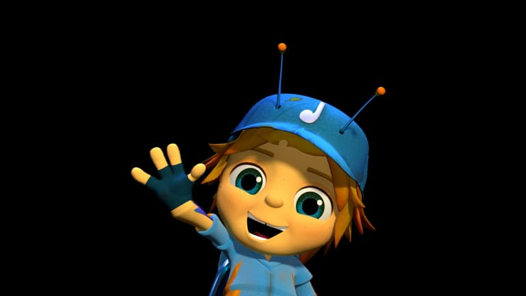 Beat Bugs character Jay. Beat Bugs is an animated series aimed at five- to seven-year-olds, revolving around the lives and adventures of five charming and funny child-like bugs who live in an overgrown American-style backyard, inspired by the iconic songs of The Beatles.