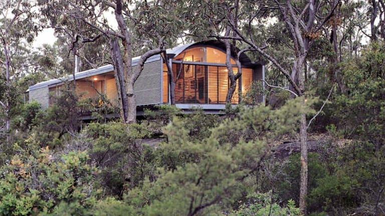 Still standing: The Glenorie house designed by Architect Glenn Murcutt.