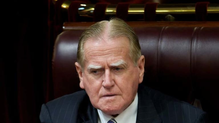 """Success ... Fred Nile has had a """"very positive, co-operative and friendly meeting"""" with the government."""