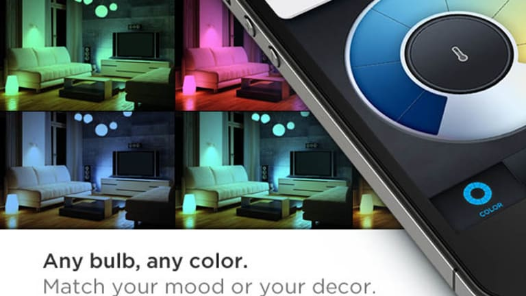 LIFX allows you match your lighting with your mood.