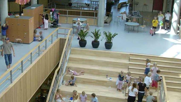 The Hellerup School in Copenhagen