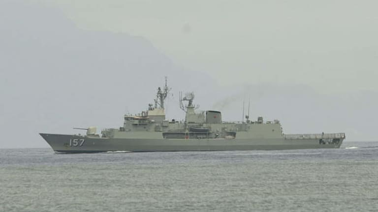 HMAS Perth (pictured) has already been upgraded with CEA's phased array radar system.