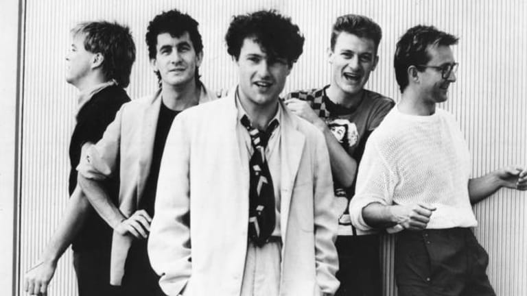 Young and restless ... Mondo Rock in the early days.
