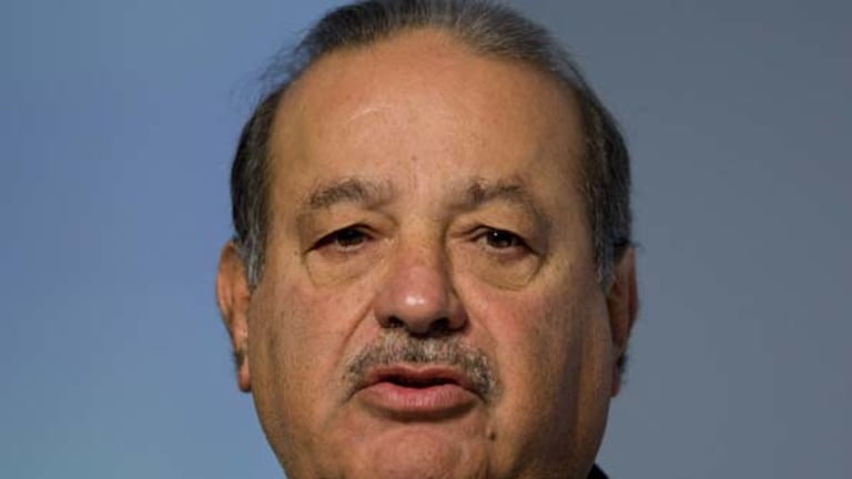Mexican business magnate Carlos Slim Helu is worth approximately $US53.5 billion.