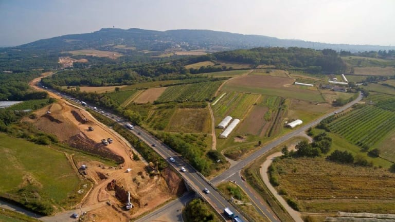 Atlas Arteria's APRR tollroad in France benefited from rail strikes because more people took the roads.