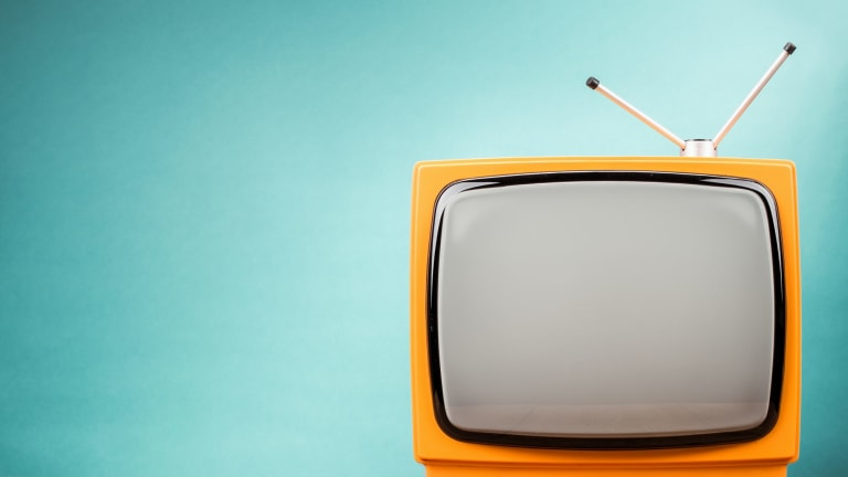 TVs only had three channels...
