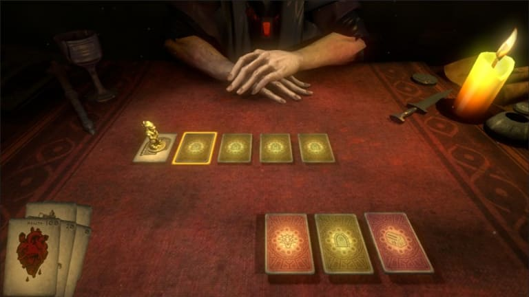Hand of Fate, made by Brisbane's Defiant Development, blends card games with action RPGs to create a unique style of its own.