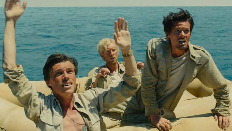 Difficult scene for sound recording: The raft scene in <i>Unbroken</i>.