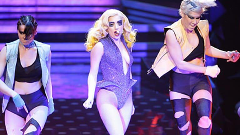 Lady Gaga in Sydney during the Australian leg of her Monster Ball tour.