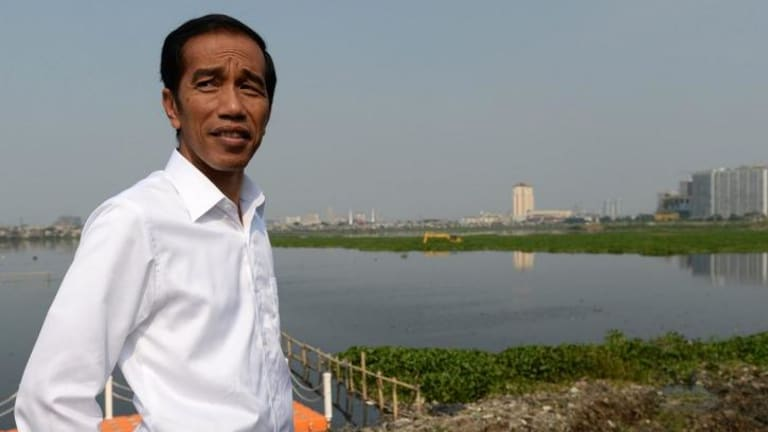 President-elect: Jakarta Governor Joko Widodo.
