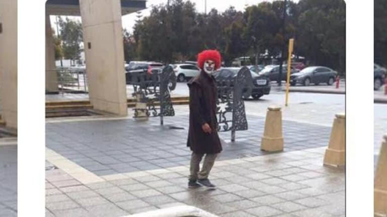 Sinister clowns which have been popping up around the US are now making appearances in Australia.