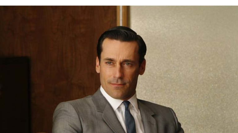Sharp dresser ... Mad Men's Don Draper.