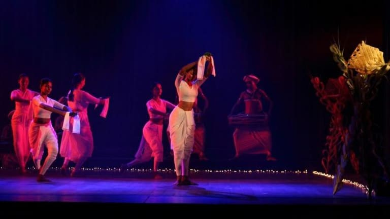 Roots in ritual: Chitrasena Dance Company performs Offering in Dancing for the Gods.