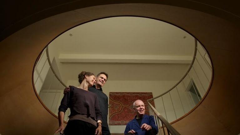 Home style collaboration: Deborah Kayser, Boa Baumann and Fritz Hauser.